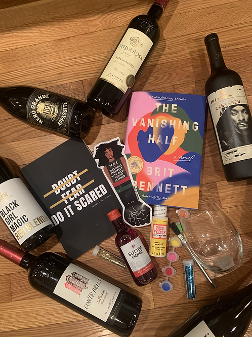 December Book Box- Wine-ing Down 2020