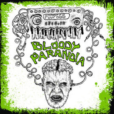 Bloody Paranoia: Split ep (7'')