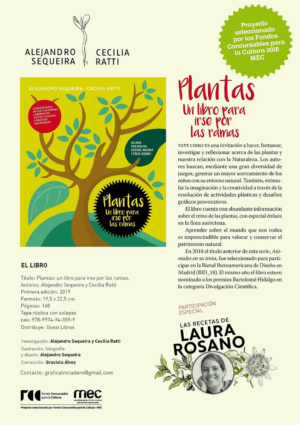 Plantas, un libro de Alejandro Sequeria y Cecilia Ratti
