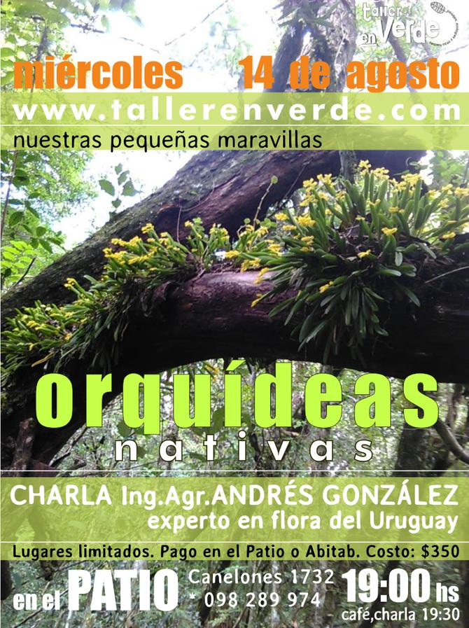 Charla Orquídeas nativas