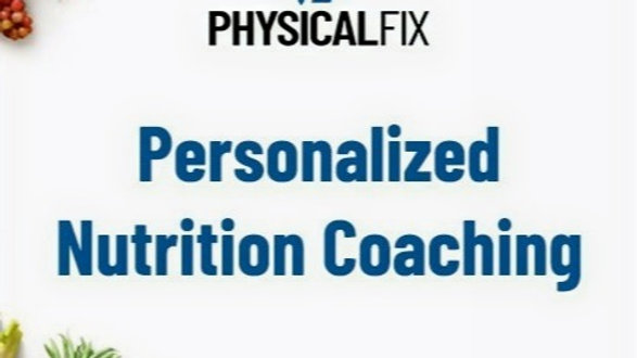 12 Sessions Personalized Nutrition Coaching