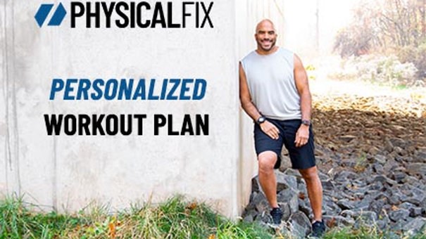 Personalized Workout Plan
