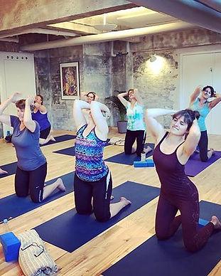 Bowspringer holdet i Nordisk yoga, Odens