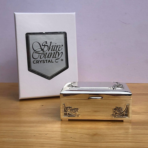 Silverplated Treasure Box from Shire County Silverware | Luxury Gift Box