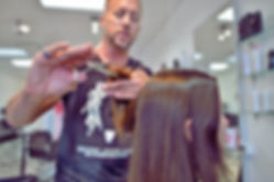 BarkAID Patrick Lomantini Cutting Hair Image