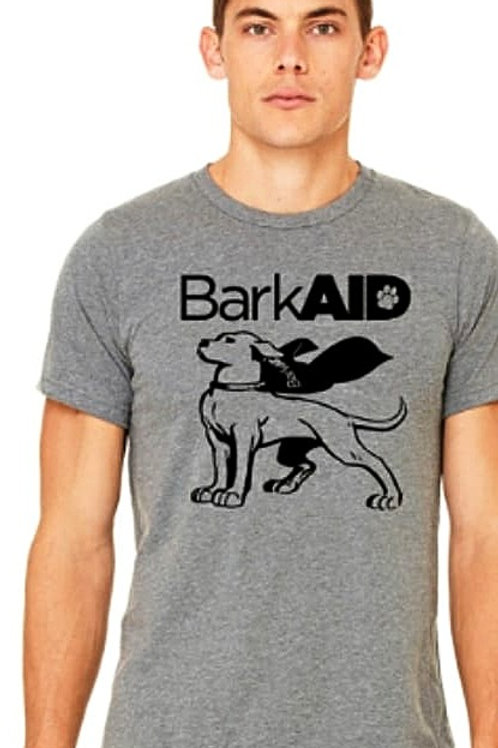BarkAID Hero T-Shirts Gray Men