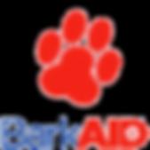 BarkAID Dog Paw Logo Image