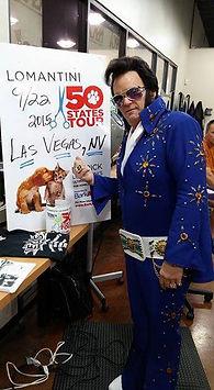 Envogue Salon Las Vegas, Paige Poole as Elvis