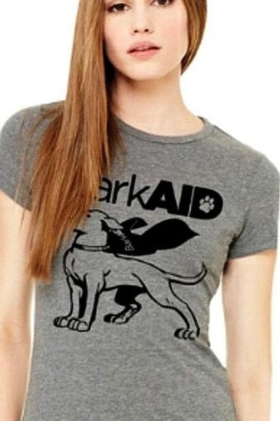 BarkAID Hero T-Shirts Gray Women