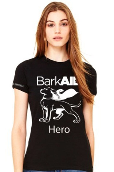BarkAID Hero T-Shirts Black Women