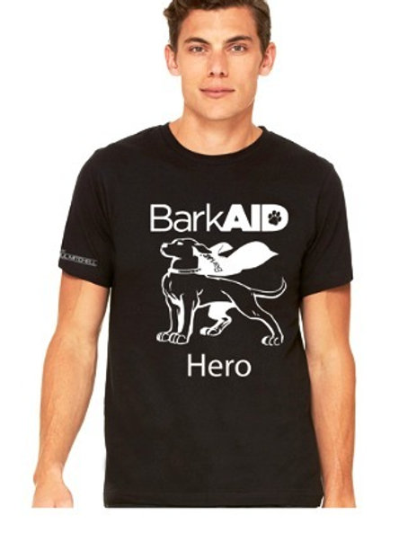 BarkAID Hero T-Shirts Black Men