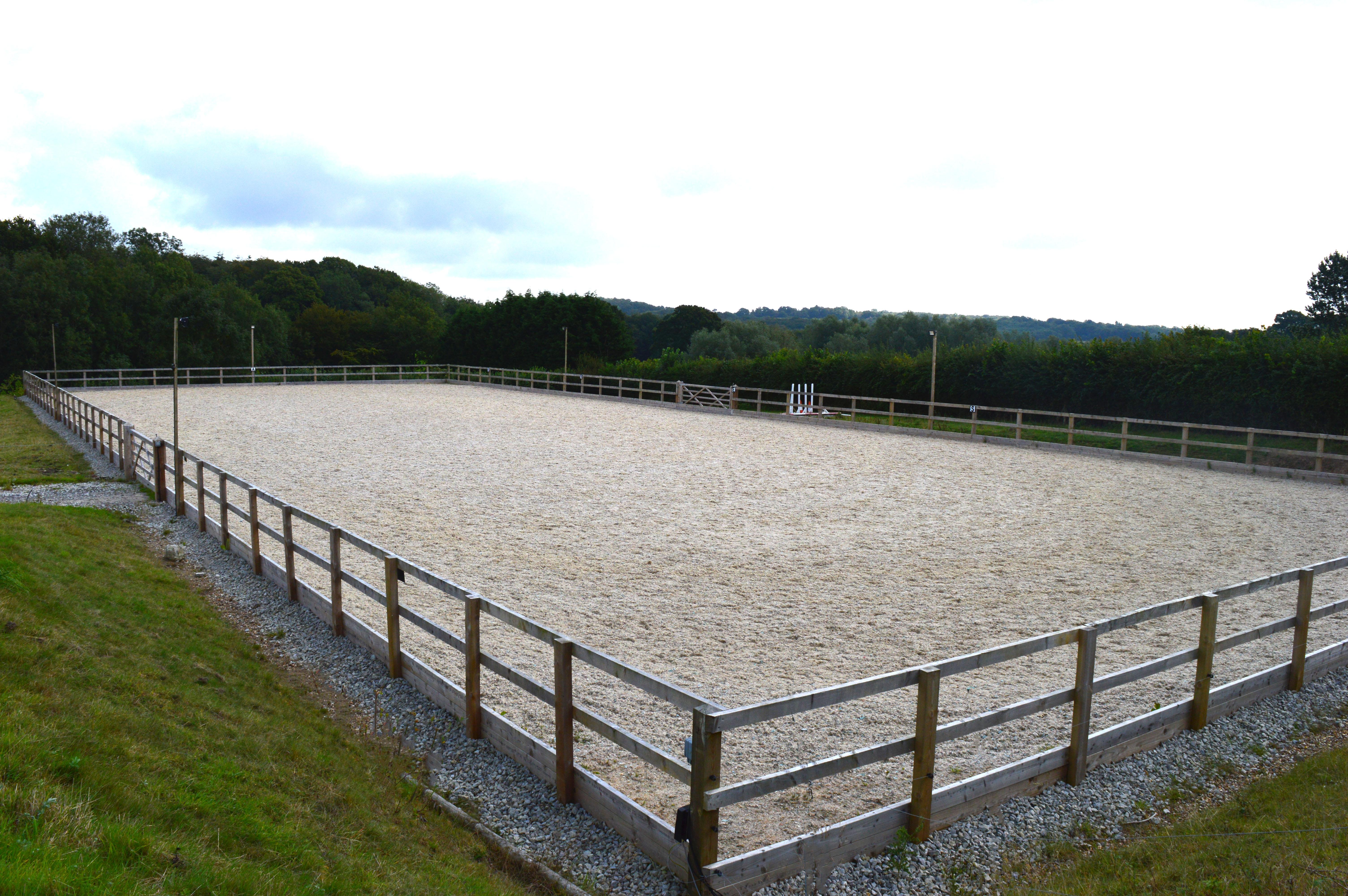 On site sand school