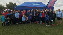 At the Sussex XC Relays, Goodwood, S