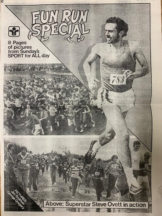 Steve Ovett Hastings Observer Sports Day 1979