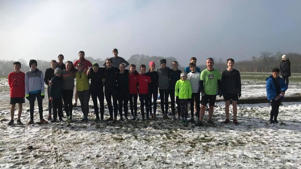Winter training at Harrow March 2018