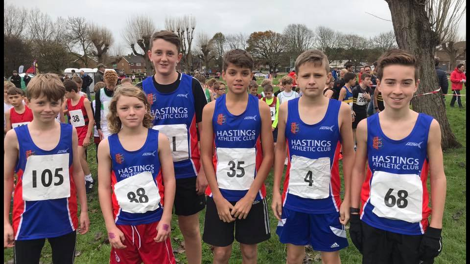 Sussex XC, Bexhill Downs, 11.11.17