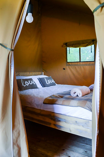 Swallows Oast Glamping Double room