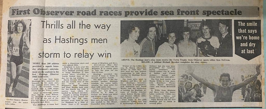 1066 Road Races Hastings AC 1977