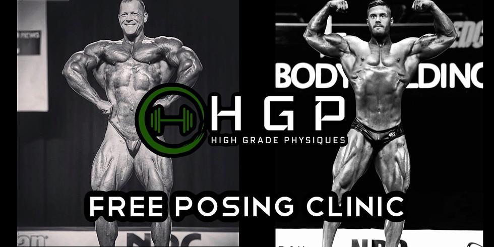 Free Posing Clinic