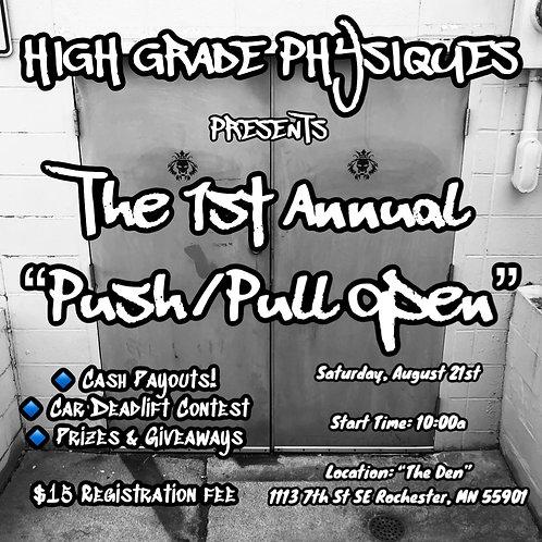 2021 Push/Pull Open