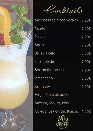 Cocktails Madina Cook