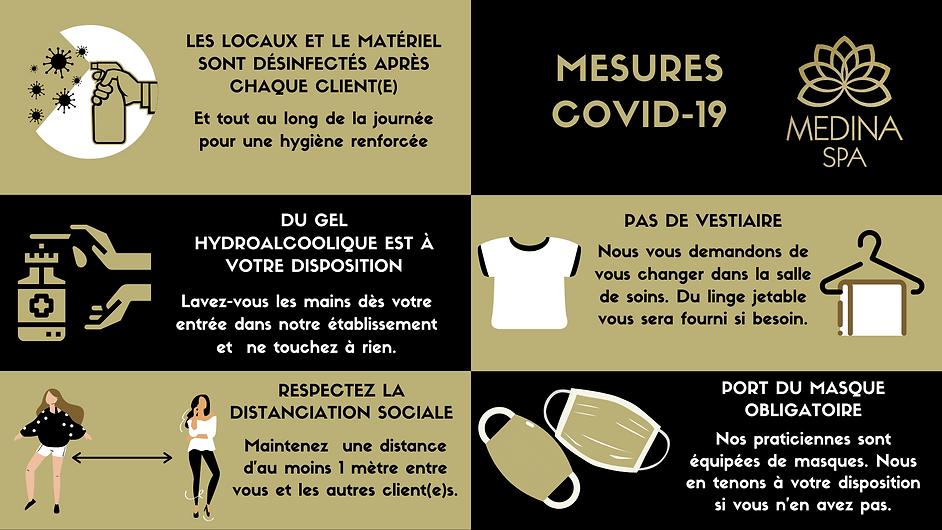 Mesures COVID