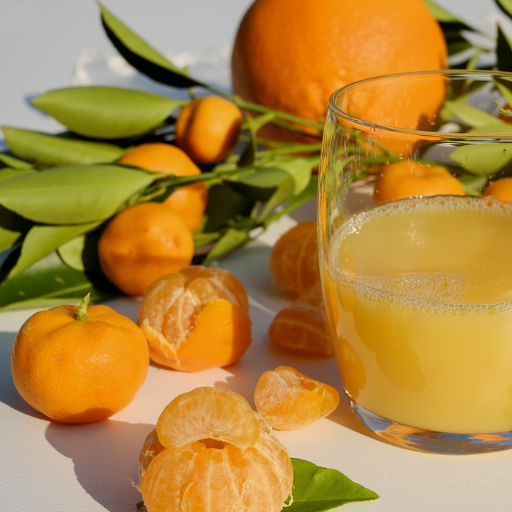 jus de fruits frais