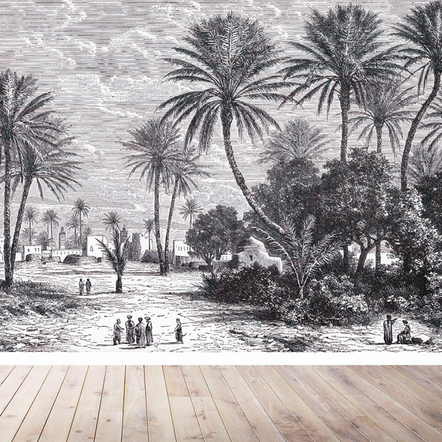 THE PALM SCENE