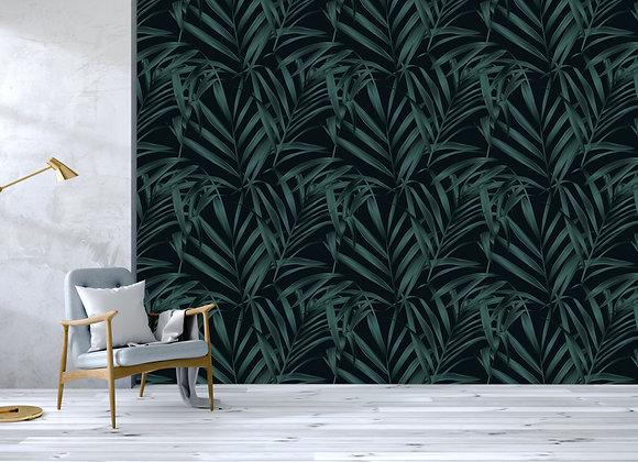Dark Palm Leaf