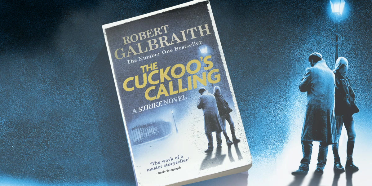 The Cuckoo Calling cover reveal