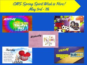 Spirit Week 5/3 - 5/7