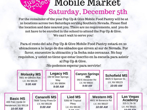Pop Up and Give Mobile Market
