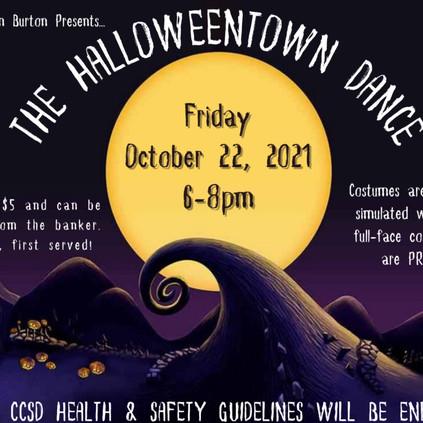 Halloween Dance Oct. 22