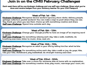 CMS February Challenges