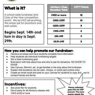 SOS Fundraiser