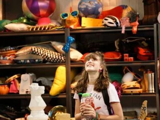"Maya Jade Frank as Belissa in Disney Channel's ""Bizaardvark"""