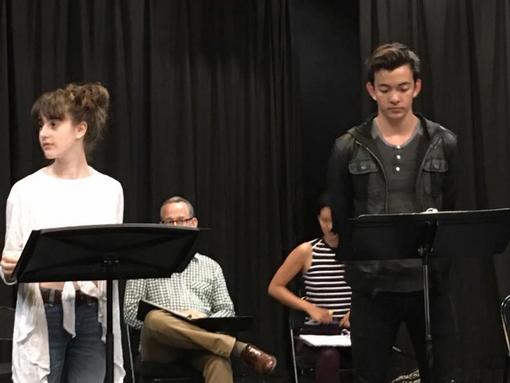 "Maya Jade Frank plays Maddie Stone in Jennifer Rudin's ""My Goddamn Bat Mitzvah"""