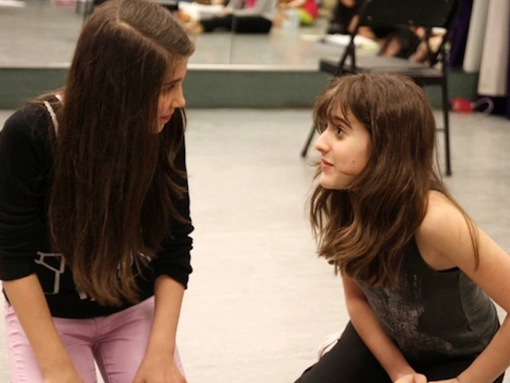 """Maya Jade Frank as Becky in US Premiere of """"A Little Princess"""""""