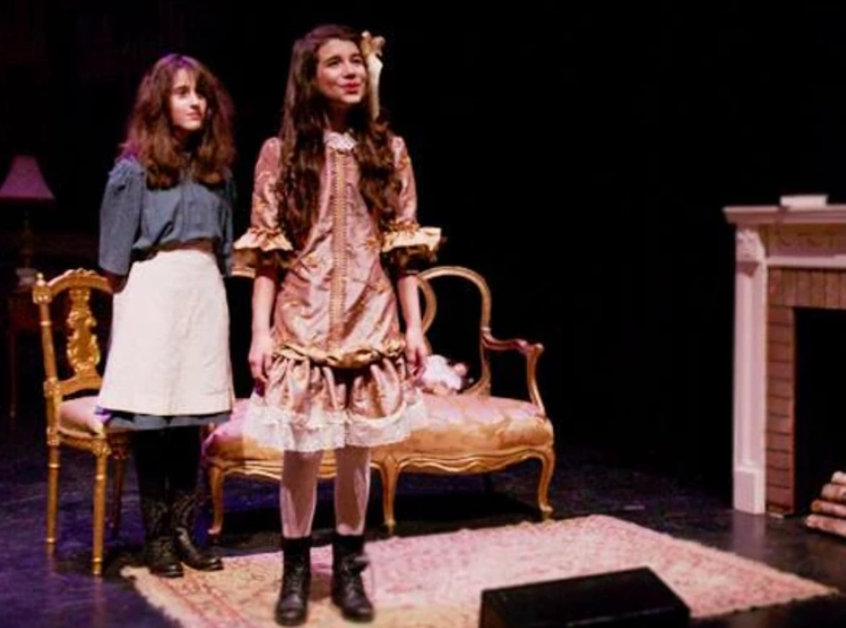 "Maya Jade Frank as Becky in US Premiere of ""A Little Princess"""