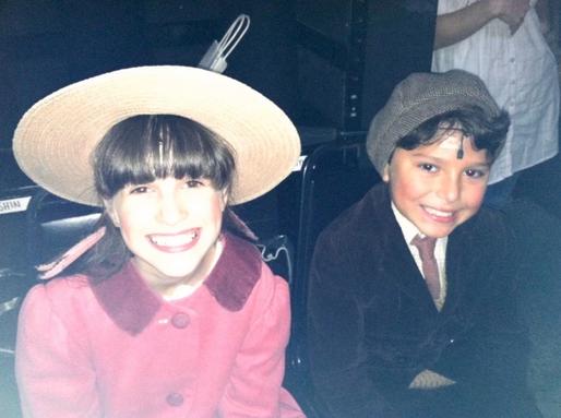 "Maya Jade Frank as Jane Banks in Broadway's ""Mary Poppins"""