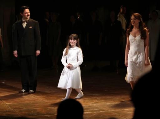 """Maya Jade Frank in Broadway's """"Evita"""""""