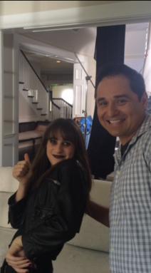 "Maya Jade Frank as Lindsey in Lifetime's ""My Haunted House"""
