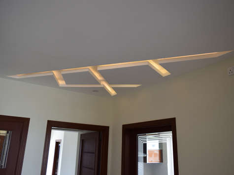 Celing Treatment - First Floor