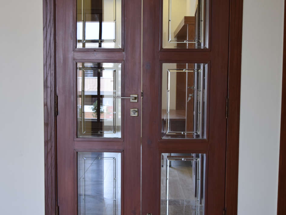 Door Design and Glass work