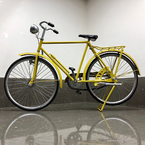 VINTAGE SALESMAN SAMPLE YELLOW WORKING BICYCLE