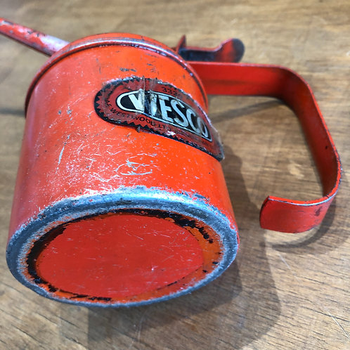 VINTAGE WESCO RED OIL CAN