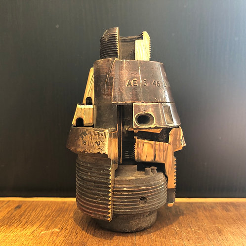 VINTAGE WW2 TRENCH ART. Fuse section