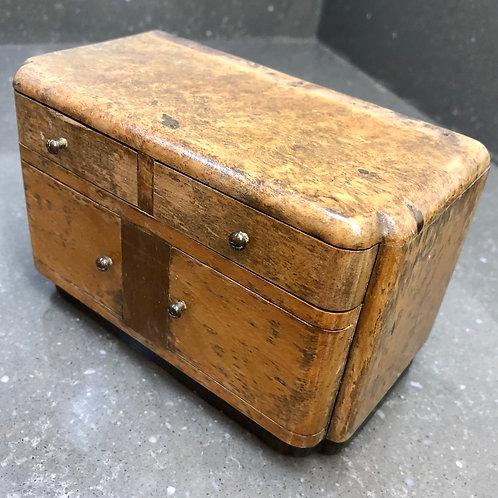 ART DECO SIDEBOARD SHAPED MONEY BOX