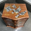 Thumbnail: VINTAGE JEWELLERY DRAWERS WITH MOTHER OF PEARL INLAY