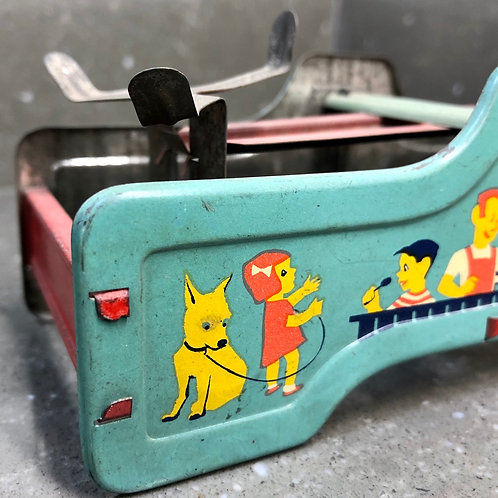 VINTAGE TINPLATE MINIATURE TOY SCALES